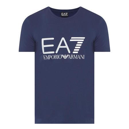 Large Logo T-Shirt Navy