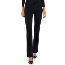 Secret Push-In Bootcut Jeans Black