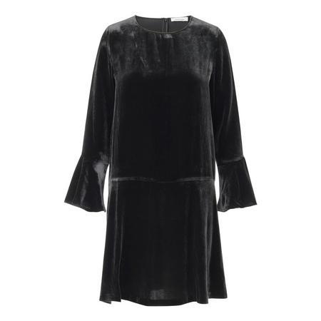 Nikitta Chiffon Dress Black
