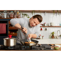 Jamie Oliver Red Collection Stainless Steel Five Piece Cookware Set