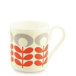 Flower Oval Stem Tomato Mug