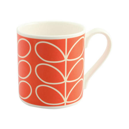 Poppy Linear Stem Mug Multicolour