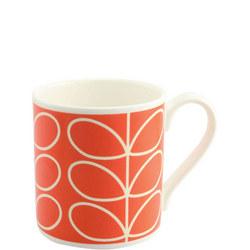Poppy Linear Stem Mug Multicolour