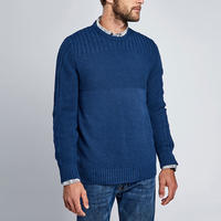 Outlaw Crew Neck Sweater Navy