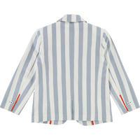 Stripe Blazer Blue