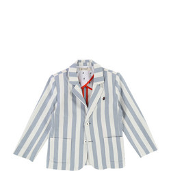 Stripe Blazer Blue