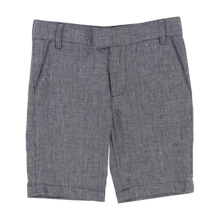 Tweed Shorts Navy