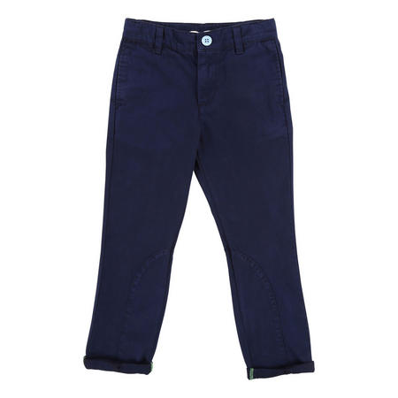 Boys Cotton Chino Trousers Navy