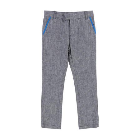 Tweed Trousers Blue