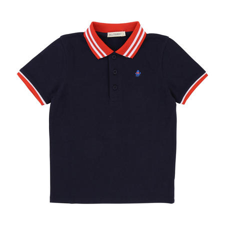 Contrast Polo Navy