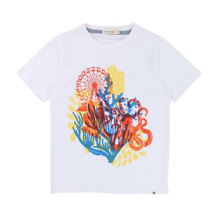 Graphic Print T-Shirt White