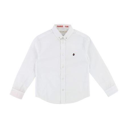 Contrast Shirt White