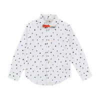 Printed Shirt White