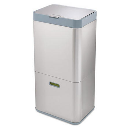 Totem 60 Silver Waste & Recycling Unit