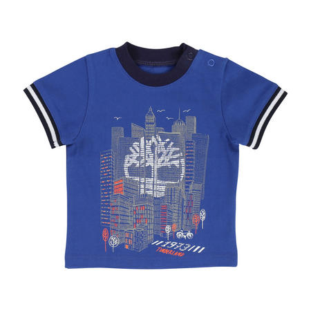 City Print T-Shirt Blue