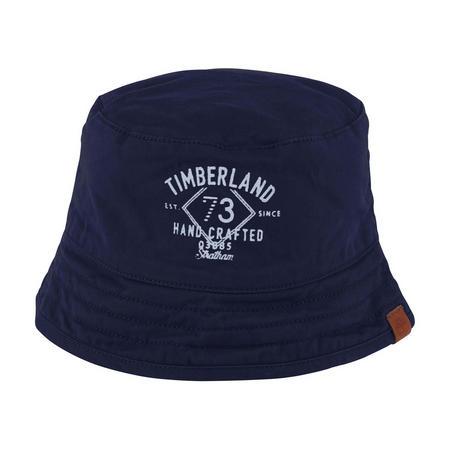 Logo Bucket Hat Navy