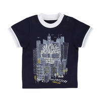 City T-Shirt Navy