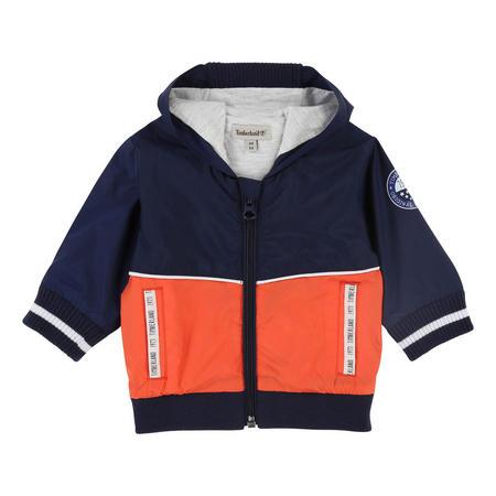 Lightweight Hooded Jacket Orange