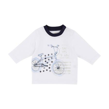 Bike Long Sleeve T-Shirt White