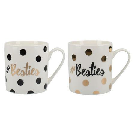 Ava & I Set Of 2 Can Mugs Besties