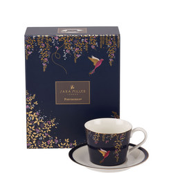 Chelsea Collection Tea Cup & Saucer Navy