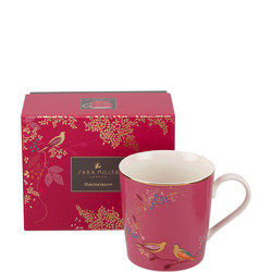The Chelsea Collection Pink Birds Mug Pink