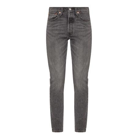 501 Skinny Fit Jeans Grey