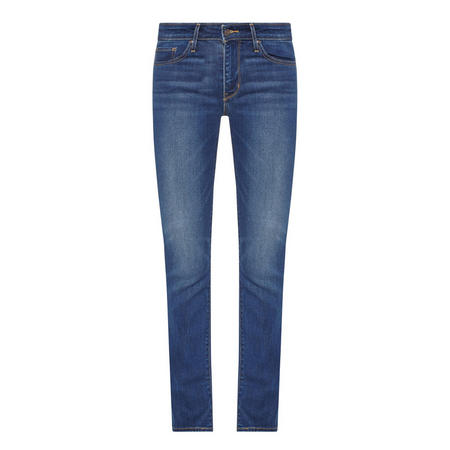 712 Mid-Rise Jeans Blue
