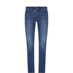 712 Mid-Rise Jeans Blue
