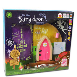 Glow In The Dark Fairy Door Pink
