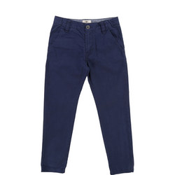 Boys Chino Trousers Blue