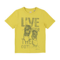 Boot Print T-Shirt Green