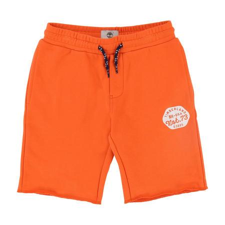 Fleece Shorts Orange
