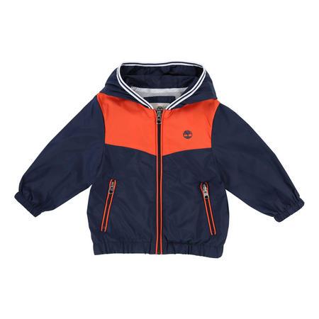 Boys Hooded Windbreaker Orange