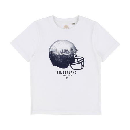 Helmet T-Shirt White