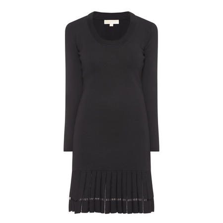 Scoop Neck Dress Black