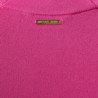Bell Sleeve Polo Dress Pink