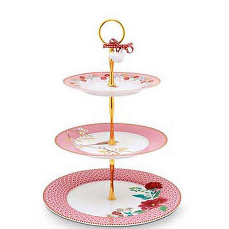 Cake Stand 3/Layers  Pink
