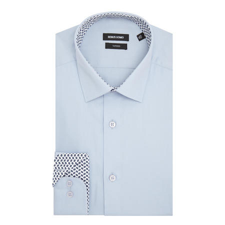 Parker Textured Shirt Blue