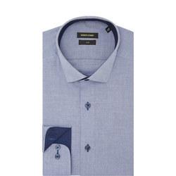 Kirk Slim Fit Shirt Blue