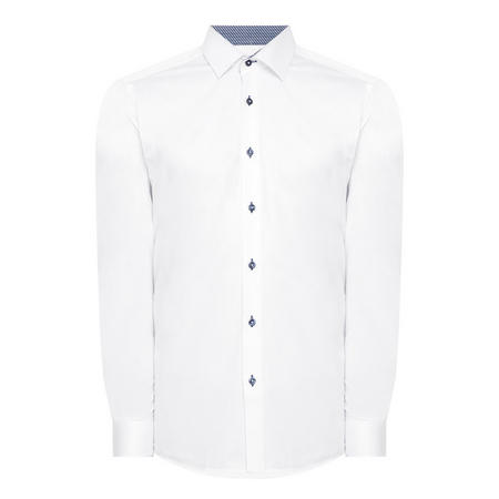 Parker Tapered Fit Shirt White