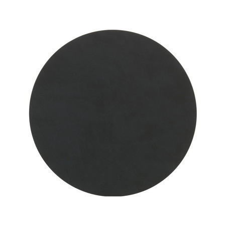 Table Mat Circle 24Cm Nupo Black
