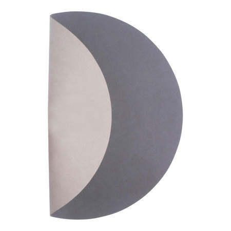 Table Mat Circle 40Cm Nupo Anthracite/Nupo Light Grey