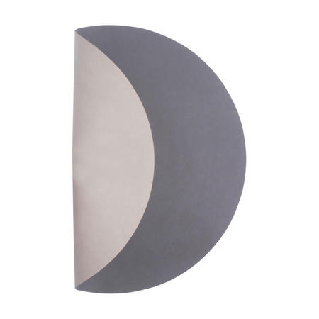 Table Mat Circle 30Cm Nupo Anthracite/Nupo Light Grey