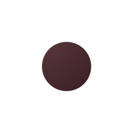 Glass Mat Circle 10Cm Softbuck Bordeaux