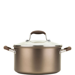 Advanced Stockpot 24Cm/5.7L Brown