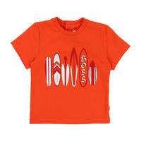 Surfboard T-Shirt Orange