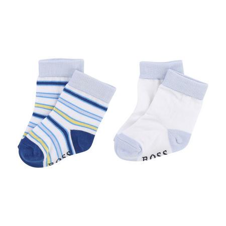 Two Pack Socks White