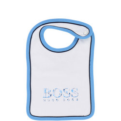 Single Logo Bib White