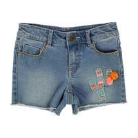 Pom Pom Shorts Blue